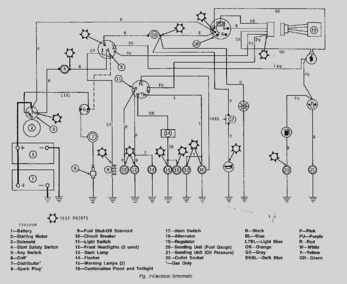 John Deere Lt155 Parts Diagram