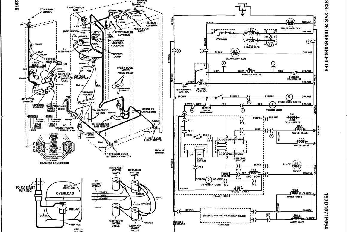 Ge Refrigerator Wiring Diagram Ice Maker Free Download Wiring ...