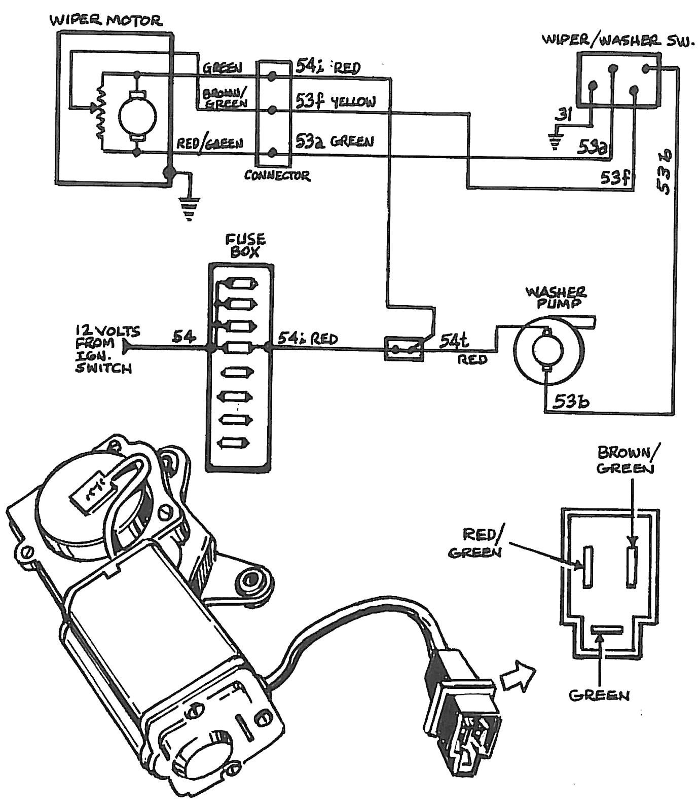 Wiper motor wiring diagram chevrolet new wiring diagram image rh mai reasurechest