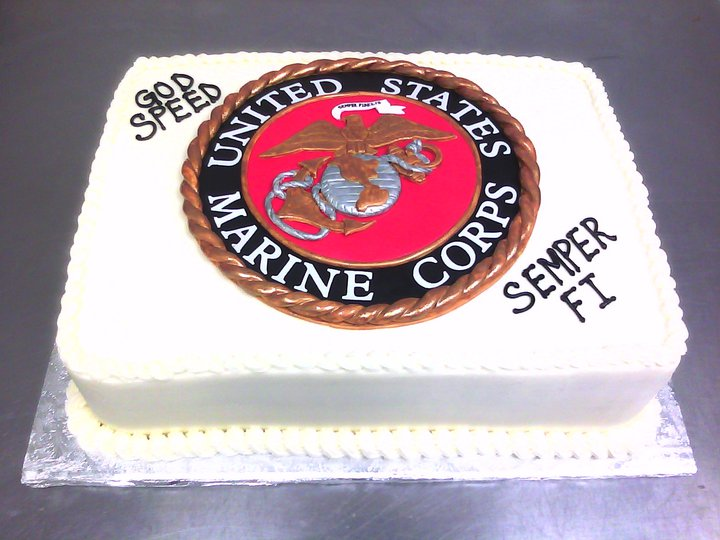 Marine Corps Main Made Custom Cakes