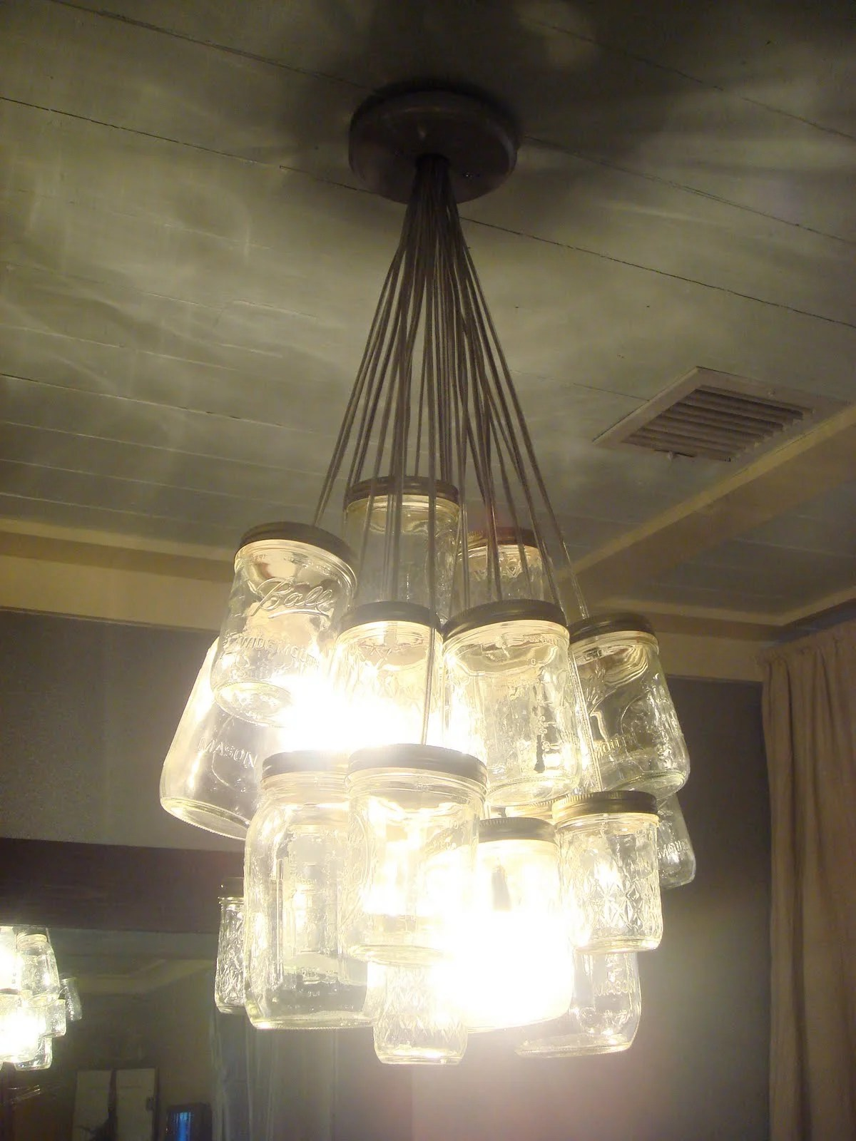 Beaded Pendant Light