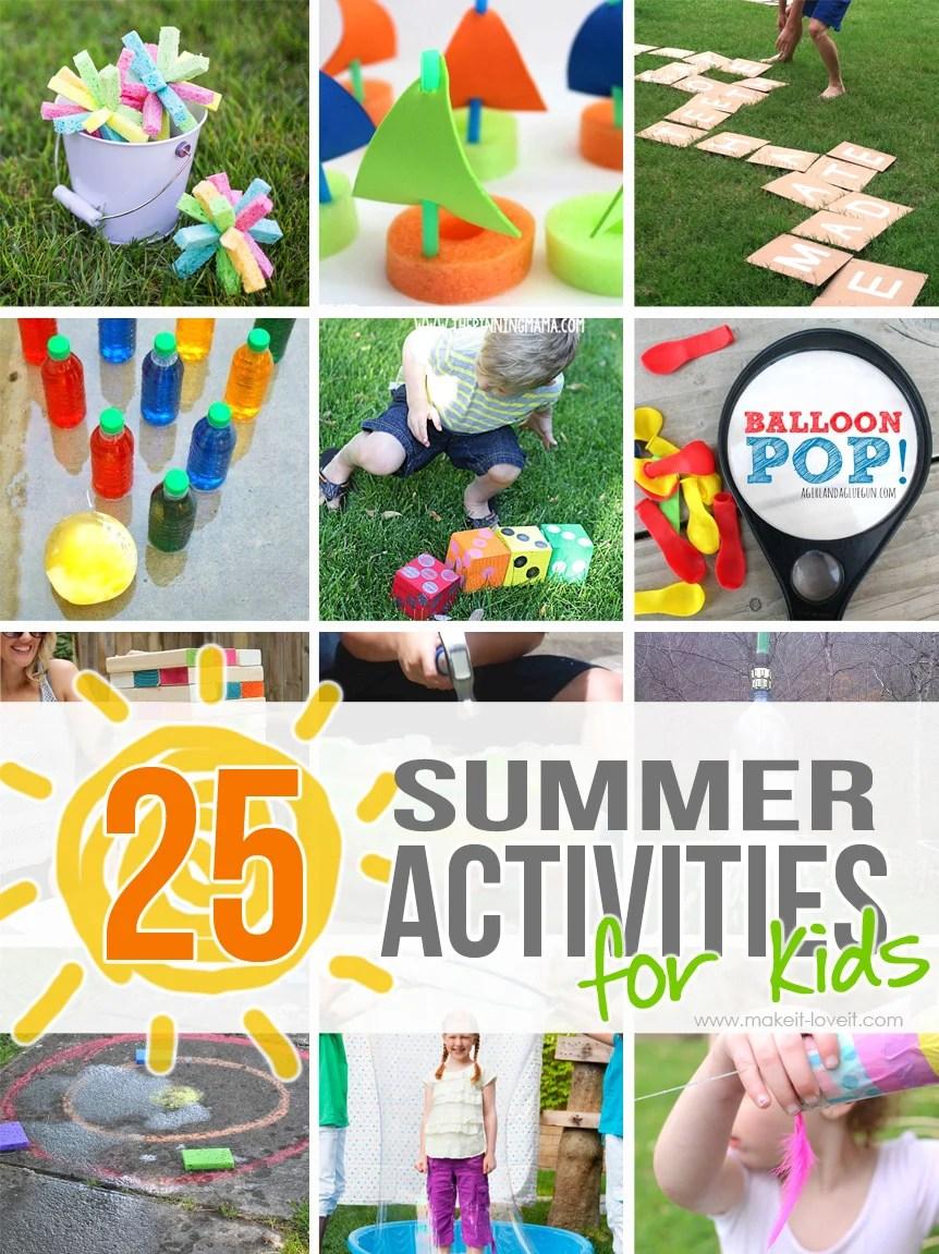 Outdoor Summer Activities
