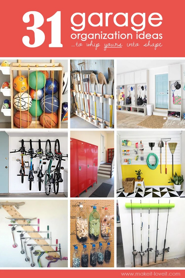 31 Garage Organization Ideas To Whip Yours Into Shape