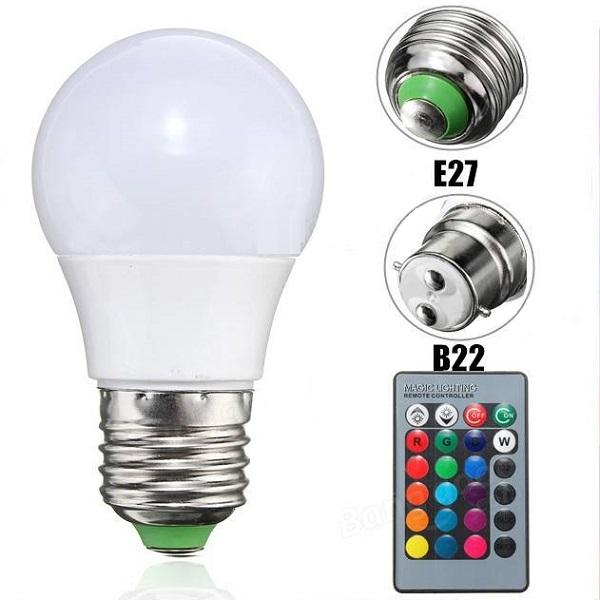 Magic Led Light Bulb Remote Control