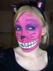 Гепард макияжы
