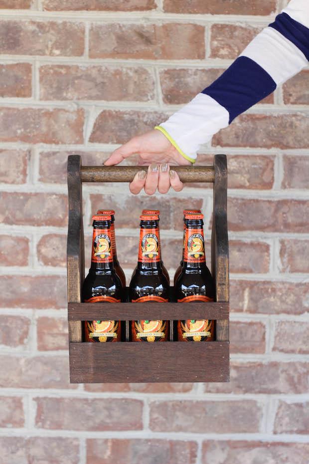 Byob Build A Wooden Beverage Carrier Make