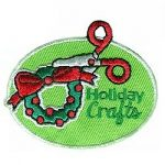 Holiday Crafts Girl Scout Fun Patch