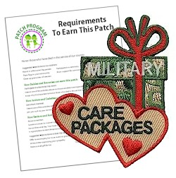 Military Care Packages Patch Program®