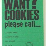 Girl Scout Cookie Door Hanger