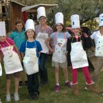 Troop 732 doing the Simple Meals Badge in a Bag