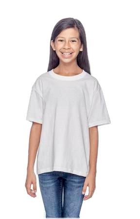 White Child-Sized Tee Shirts