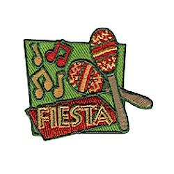 Fiesta Girl Scout Fun Patch