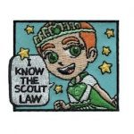Girl Scout Law Fun Patch