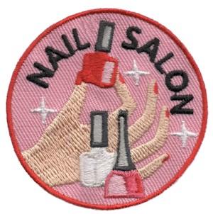 Nail Salon Girl Scout Fun Patch