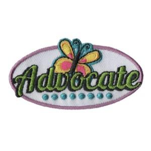 Advocate Girl Scout Fun Patch