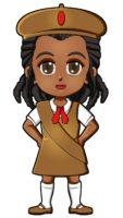Haiti Girl Guide Uniform