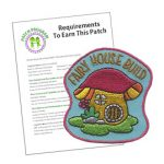 Girl Scout Fairy House Patch Program®