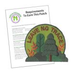 Girl Scout Leave No Trace Patch Program®