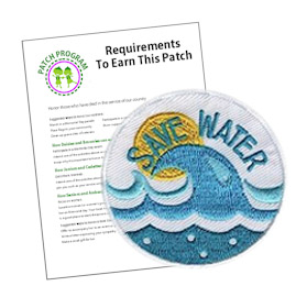 Girl Scout Save Water Patch Program®
