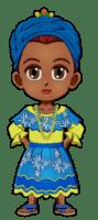 World Thinking Day Traditional Brazil Clothing