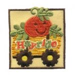 Hayride Girl Scout Patch