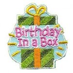 Birthday In a Box Fun Patch