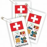 Switzerland Toothpick Flag SWAP