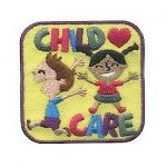 Girl Scout Child Card Fun Patch