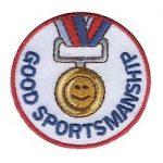 Girl Scout Good Sportmanship Fun Patch