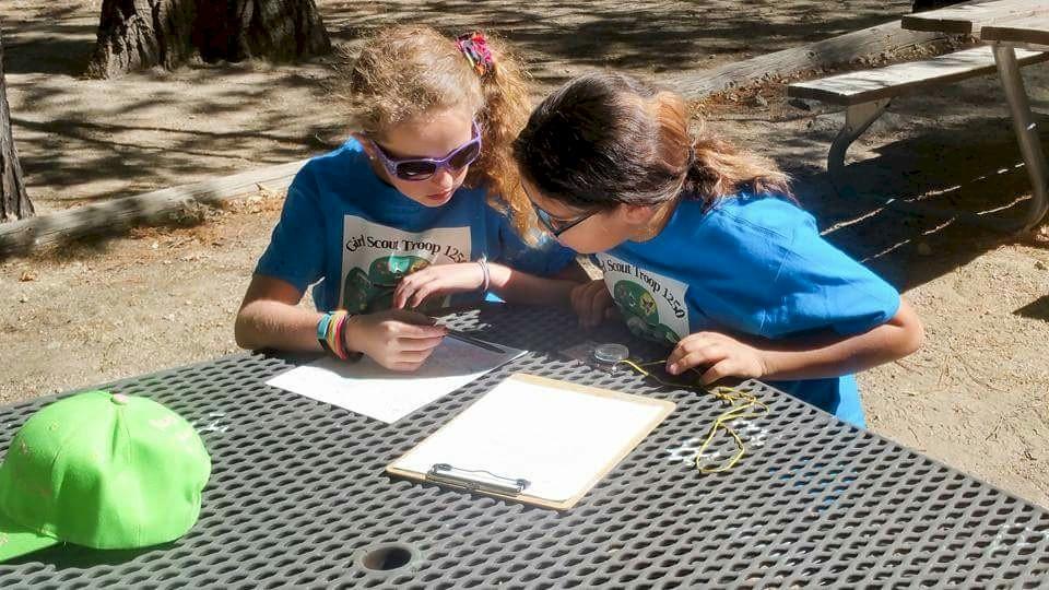 Juniors-map-reading