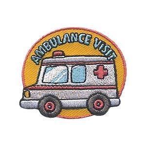 Girl Scouts Ambulance Visit Patch