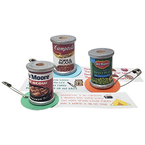 Canned Food Girl Scout SWAPs