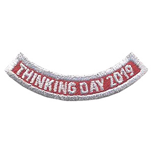 Girl Scout Thinking Day 2019 Add-On Patch