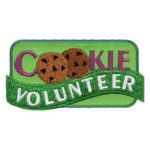 Girl Scout Cookie Volunteer Fun Patch