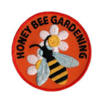 Honey Bee Gardening Service Scout Patch