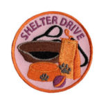 Animal Shelter Drive Scout Patch