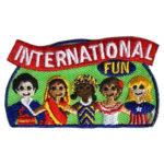Girl Scout International Fun Patch