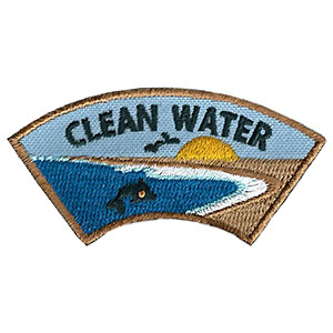 """The Clean Water Advocate Service Patch is from the Youth Squad Environmental Patch Program®. MakingFriends®.com partnered with Youth Squad to bring you a rewarding community service program with step-by-step instructions for every age level to make a meaningful impact in their community. This is one of our """"Advocate"""" level patches. The requirements for our Advocate level patch program® are geared toward getting support for a specific project of your choosing. via @gsleader411"""