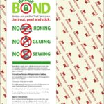 BadgeBond Patch Adhesive