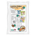 Exercise Helper Badge in a Bag