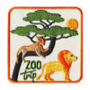 Zoo Trip Iron On Zoo Trip Fun Patch
