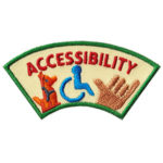 Accessibility Advocate Service Patch from Youth Squad