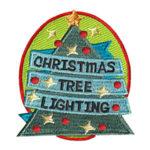 Christmas Tree Lighting Fun Patch