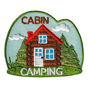 Cabin Camping Patch