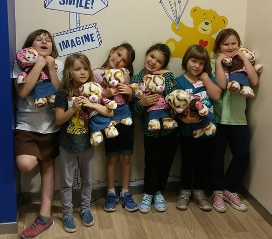 build a bear with daisy girl scouts