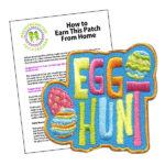 Girl Scout Egg Hunt Fun Patch Program