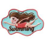 Swimming Fun Patch Girl
