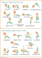 Kids yoga poses download for Girl Scouts