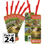 Mexico Thinking Day Bookmarks