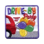 Girl Scout Drive By Party Patch